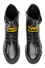 Boots with buckles - Black - Men | H&M GB 2