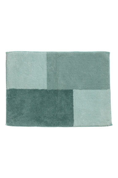 Tapis de bain color block - Vert clair/multicolore - Home All | H&M FR