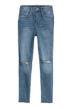 Slim High Trashed Jeans - Light denim blue - Ladies | H&M 2