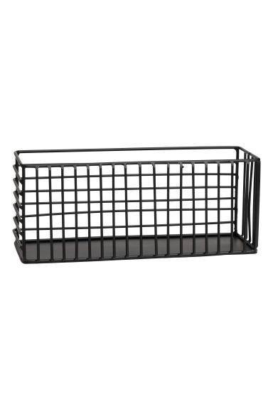 Metal wire basket - Black - Home All | H&M GB