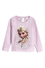 Jersey pyjamas - Light purple/Frozen - Kids | H&M 2