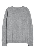 Cashmere jumper - Light grey - Ladies | H&M CN 2