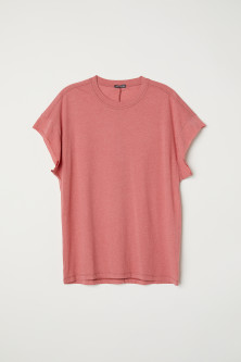 T-shirt with Cut-off Sleeves