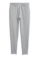 Joggers with zips - Grey marl - Men | H&M CN 1