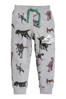 Joggers with Printed Design