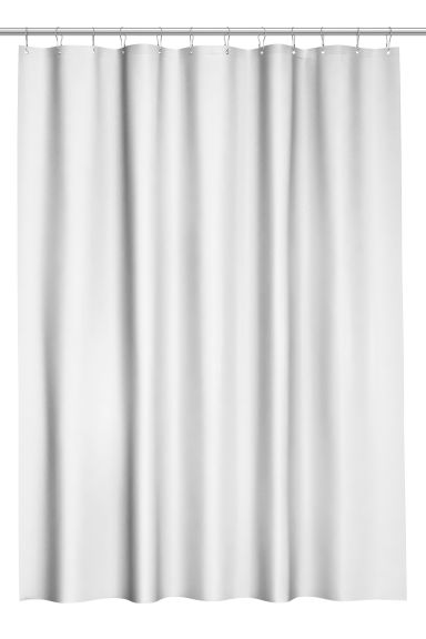 Shower curtain - Light grey -  | H&M IE