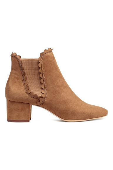 Ankle boots - Cognac brown - Ladies | H&M IE
