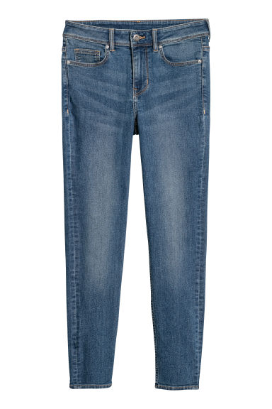 Petite Fit Super Skinny Jeans - 丹寧藍 - Ladies | H&M