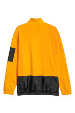Zipped fleece top - Bright yellow/Black - Men | H&M 3