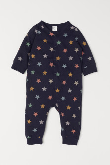 All-in-one jersey pyjamas
