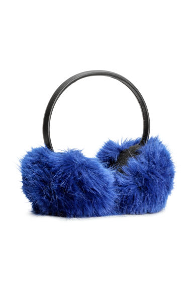 Earmuffs - Bright blue - Ladies | H&M