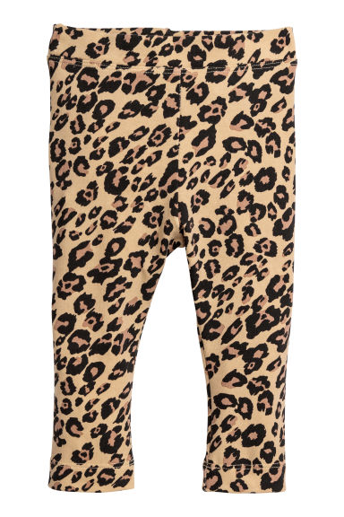 Leopard-print leggings Model