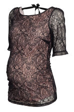 MAMA Lace top - Black - Ladies | H&M CN 1