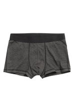 3-pack trunks - Dark grey - Men | H&M GB 3