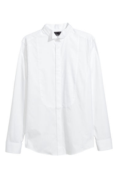 Dress shirt Slim fit - White -  | H&M