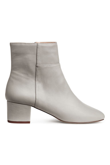 Ankle boots - Light grey - Ladies | H&M