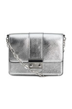 Small shoulder bag - Silver-coloured - Ladies | H&M CN 1