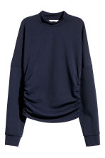 Drawstring top - Dark blue - Ladies | H&M 1