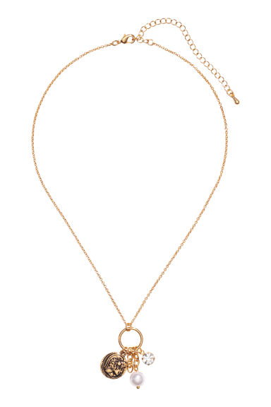 Necklace with pendants - Gold-coloured -  | H&M CN