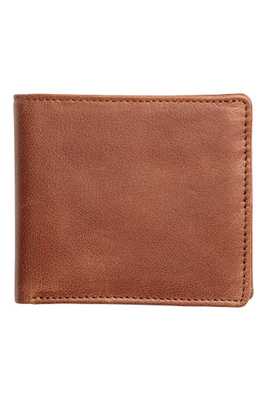Leather wallet - Brown - Men | H&M IE 1