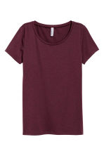 Jersey top - Plum - Ladies | H&M 2