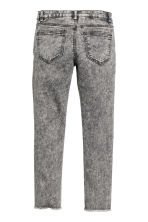 Pantalon en twill Skinny fit - Gris washed out/fleurs - ENFANT | H&M BE 3