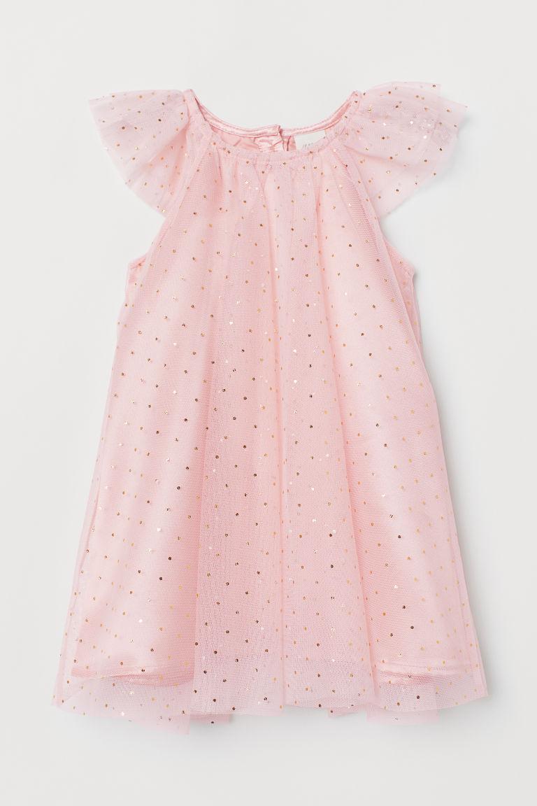 Shimmery Tulle Dress