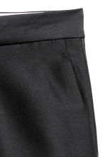 Wool-blend suit trousers - Black - Ladies | H&M IE 4
