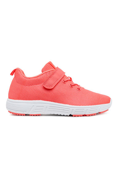 Sneakers in mesh - Rosa neon - BAMBINO | H&M CH