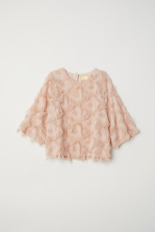 Top with fringing