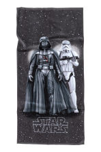 Patterned bath towel - Black/Star Wars - Home All | H&M CN 1