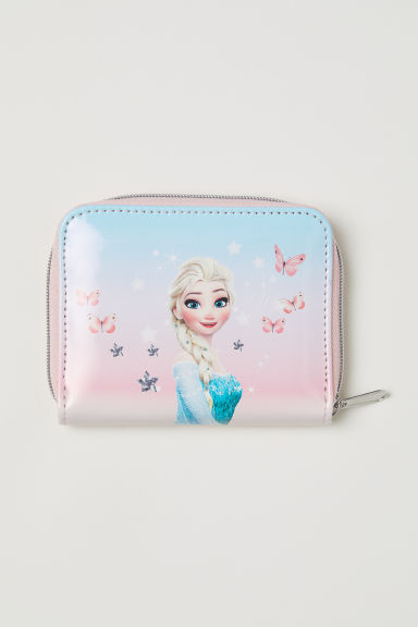 Glittery printed purse - Light pink/Frozen - Kids | H&M CN