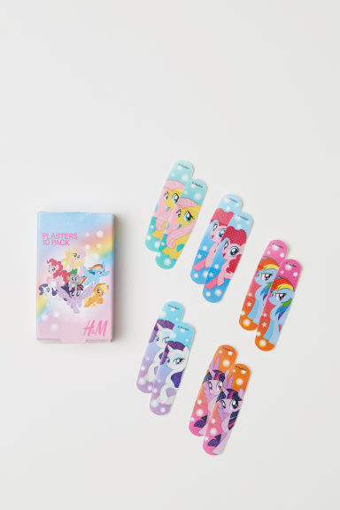 Cerotti stampati, 10 pz - Rosa/My Little Pony - BAMBINO | H&M IT