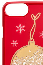 iPhone 6/6s case - Red/Christmas bauble - Ladies | H&M IE 2