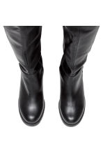 Knee-high boots - Black -  | H&M GB 2