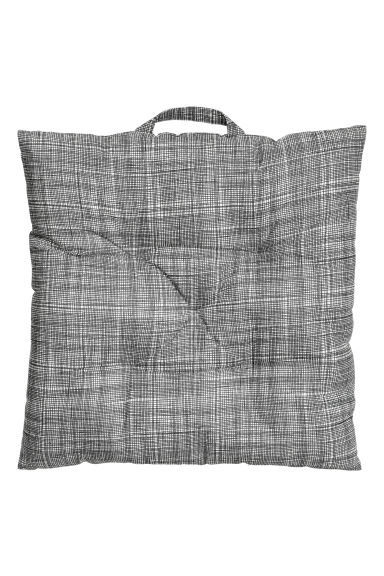 Cuscino per sedia in cotone - Grigio antracite -  | H&M IT