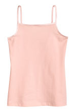 2-pack jersey tops - Powder pink -  | H&M 2