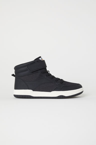 Hi-top trainers - Black - Kids | H&M CN