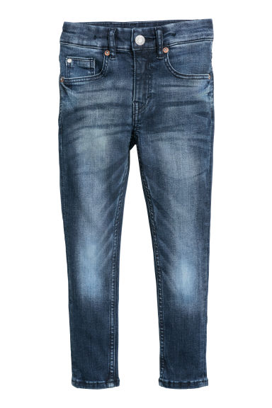 Superstretch Skinny Fit Jeans - Blu denim scuro - BAMBINO | H&M IT