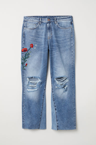 Kickflare High Ankle Jeans Model