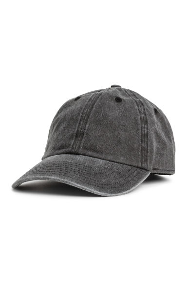 Washed cotton cap Model