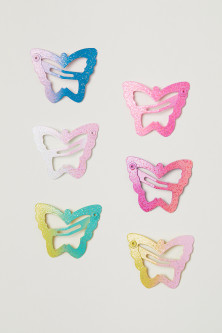6-pack hair clips