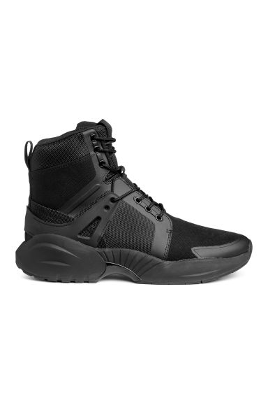 Hi-top trainers - Black -  | H&M