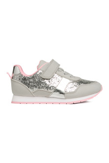 Glittery trainers