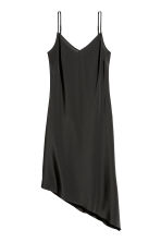 Silk dress - Black - Ladies | H&M CN 2