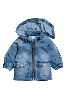 Parka en denim