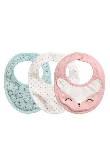 Foulards, lot de 3 - Rose clair/renard - ENFANT | H&M FR 1