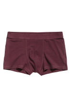 3-pack trunks - Burgundy - Men | H&M 2
