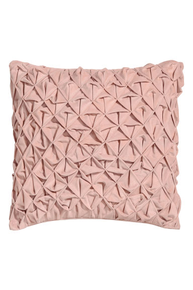 Cushion cover with pleats - Pink -  | H&M CN