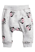 Sweatshirt and joggers - Light grey/Minnie Mouse - Kids | H&M CN 2